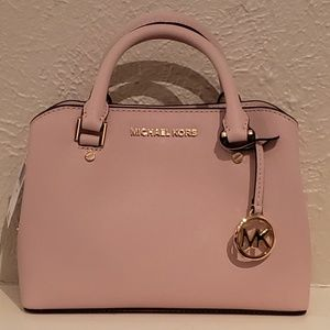 Michael Kors Savannah Small Satchel Blossom